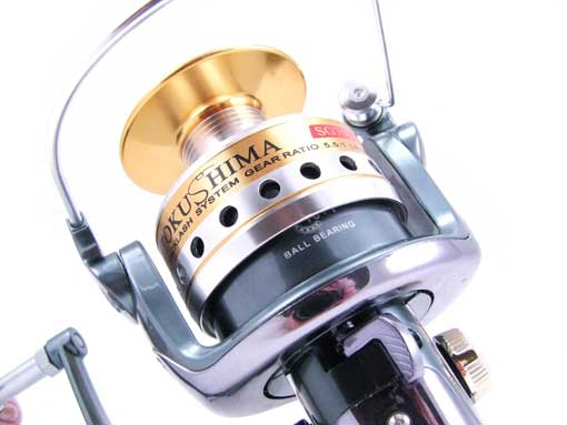 Tokushima sg7000 11 s s bb tournament heavy duty surf for Heavy duty fishing reels