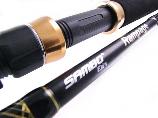 SAMBO-RAMPAGE-ROLLER-TIP-BIG-GAME-Fishing-Rod-56-30kg-CUSTOM-MARLIN-TROLLING